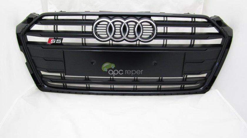 Grila radiator Audi S5 F5 ( 2019) A5 F5 Originala / Noua Negru lucios ( Crom negru)