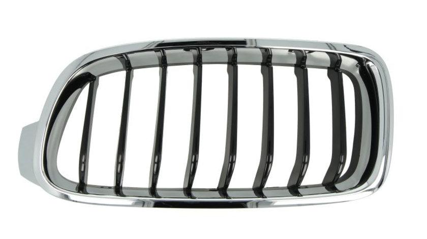 Grila radiator BMW Seria 3 (F30, F35, F80) (2011 - 2016) BLIC 6502-07-0063995P piesa NOUA