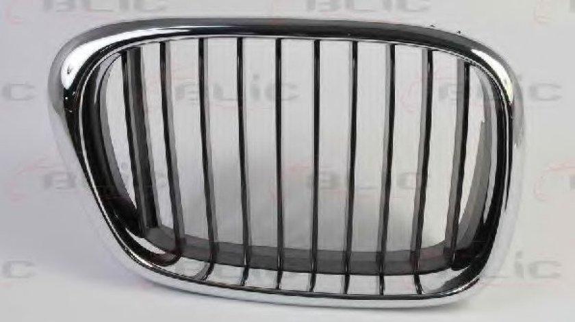 Grila radiator BMW Seria 5 (E39) (1995 - 2003) BLIC 6502-07-00659912P piesa NOUA