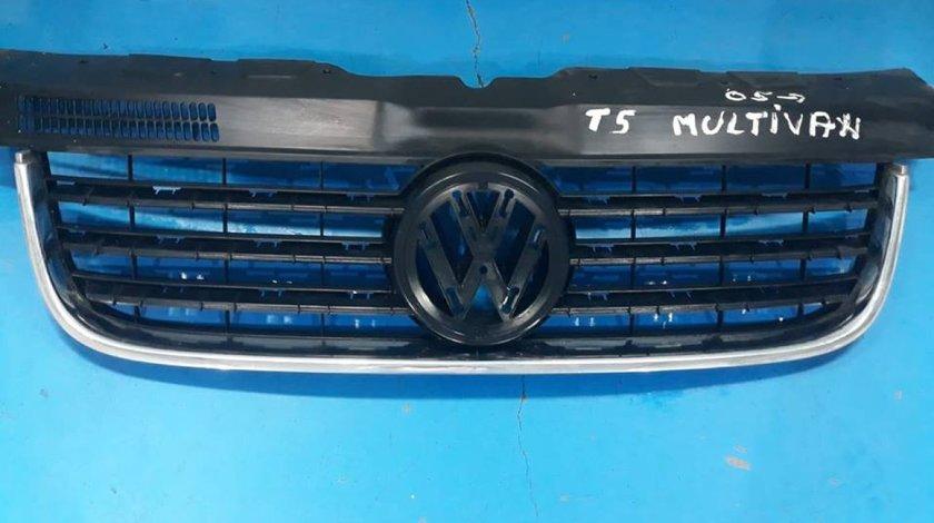 Grila radiator cu crom VW Transporter T5 2003 2004 2005 2006 2007 2008 2009 - 7H0853653