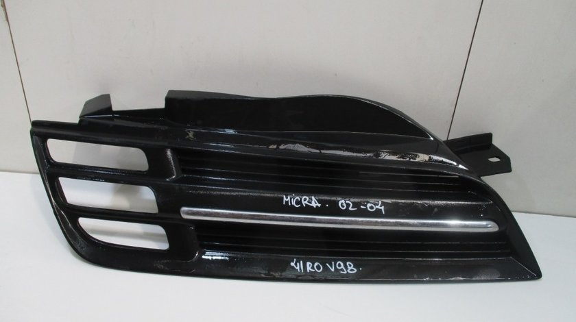 Grila radiator dreapta Nissan Micra an 2002-2004 cod 6230AX600