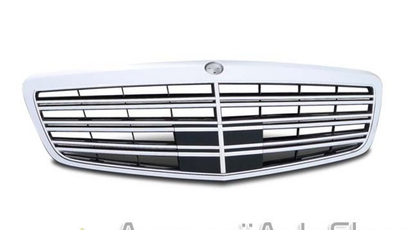 Grila radiator Mercedes S class W221 Faceflift Distronic
