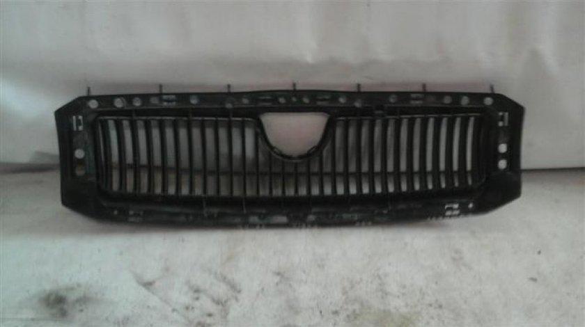 Grila radiator Skoda Fabia1 An 1998-2002 cod 6Y0853868 fara crom si emblema