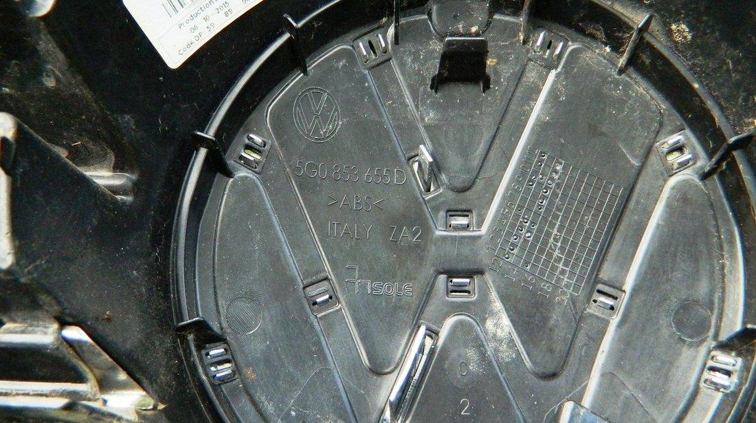 Grila radiator Vw Golf 7 dupa 2013 cod 5G0853655D