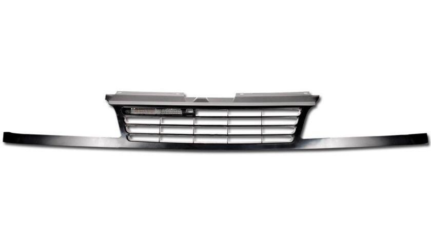 GRILA RADIATOR VW SHARAN BLACK/CROM -COD FKSG911