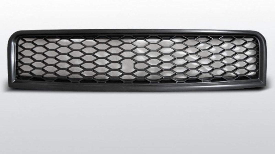 Grila sport Audi A4 B6 model RS Negru Mat