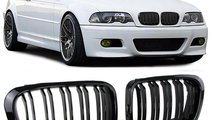 Grila sport BMW E46 1998-2001 Sedan Touring Dublu ...