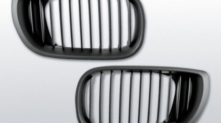 Grila sport BMW E46 model Facelift negru
