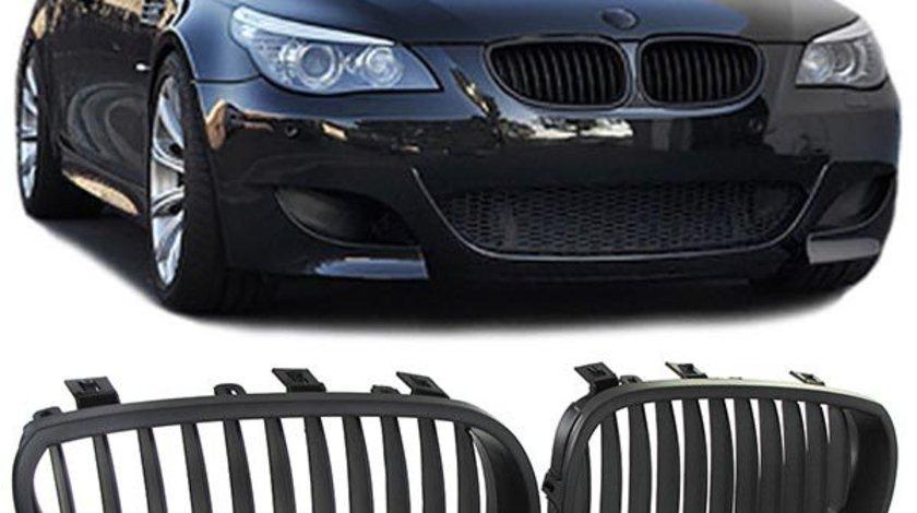 Grila sport BMW E60 E61 2003-2010 negru mat
