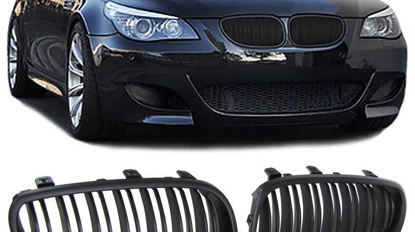 Grila sport BMW seria 5 E60 / E61 intre 2003-2010 Negru Mat