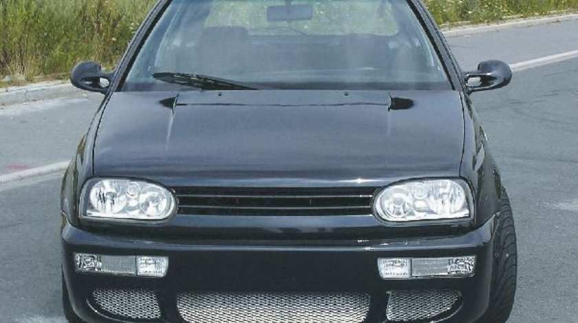 Grila sport VW Golf 3 negru plastic
