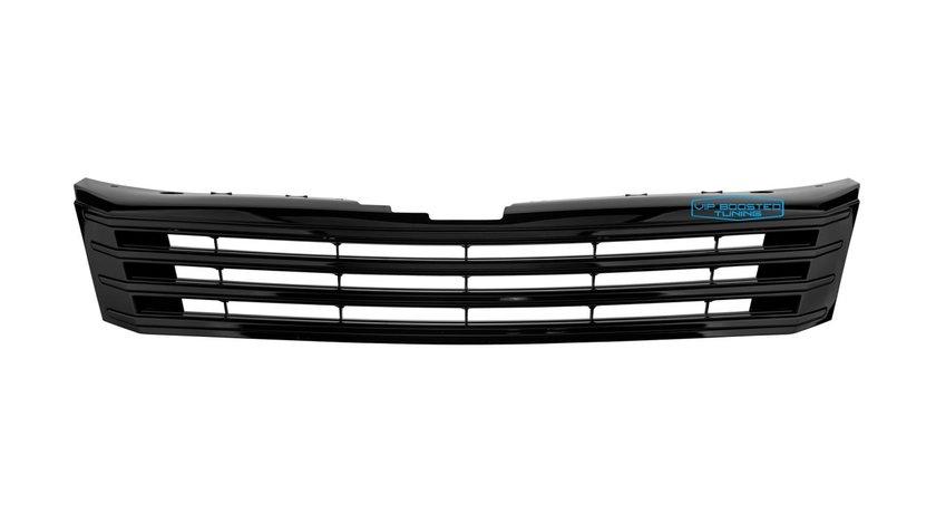 Grila tuning sport fara emblema VW PASSAT 2010+ Neagra lucios