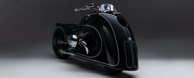 Grila verticala, acum si pe o motocicleta BMW. Exemplar unicat, construit manual