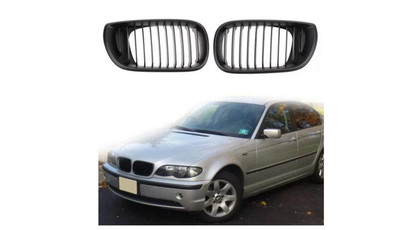 Grile aerisire radiator / capota BMW E46 seria3 (2002-2005) M Look