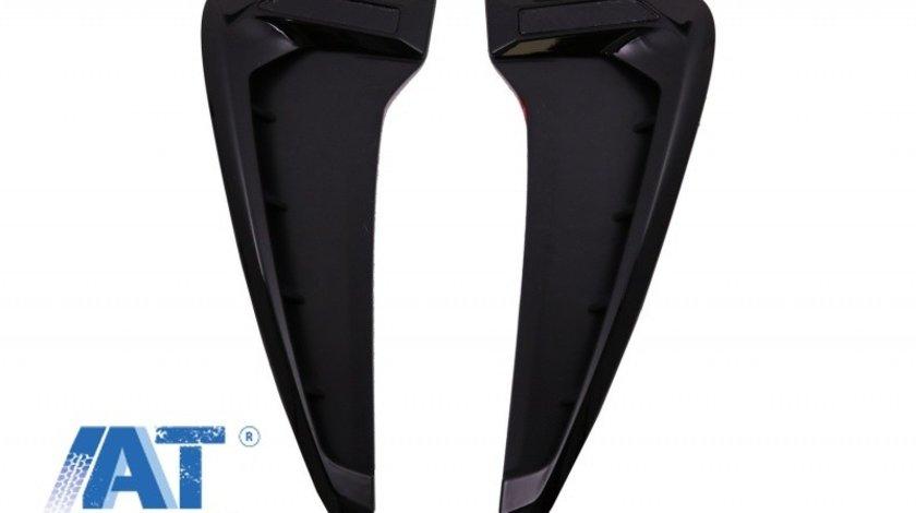 Grile Aripi Laterale compatibil cu BMW Seria X5 F15 M-Design Negru