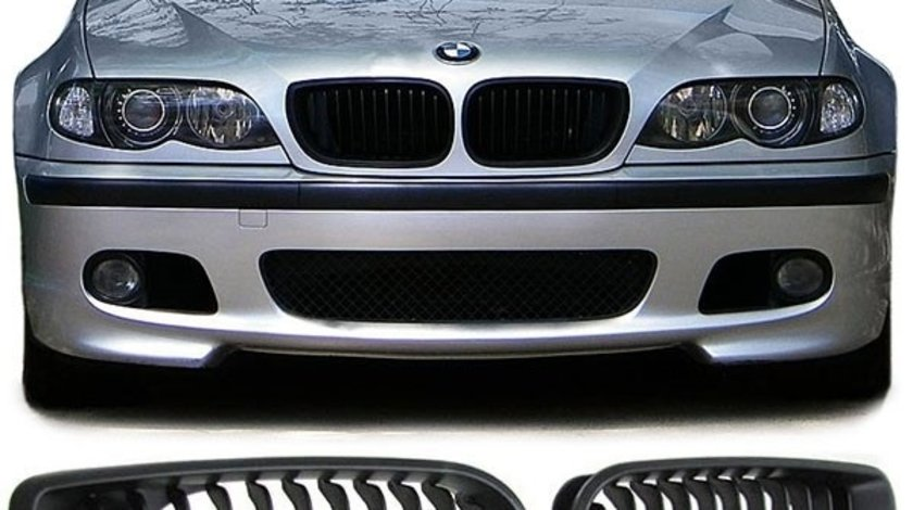 Grile Bmw E46 facelift black edition