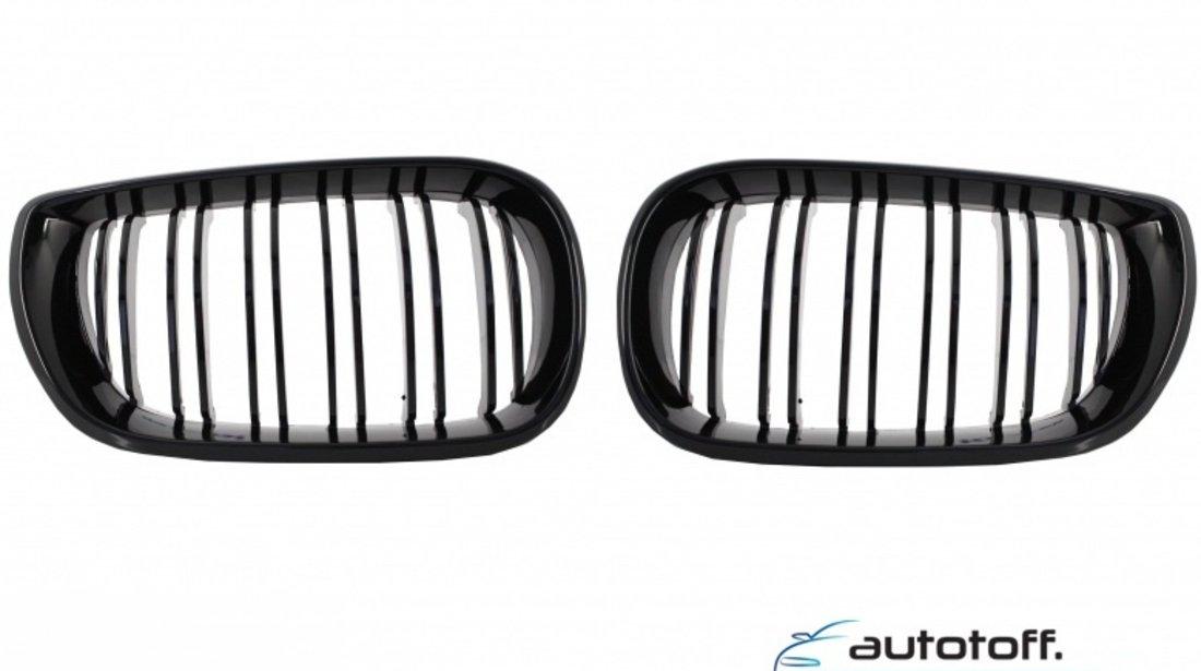 Grile BMW E46 M3 duble negru lucios