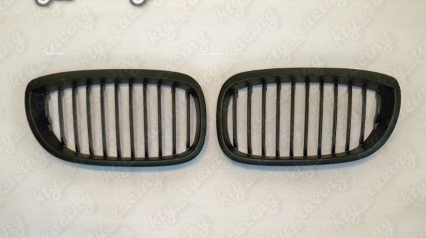 GRILE BMW E46 SERIA 3 COUPE FACELIFT 02-04 NEGRU MAT BE46-1M2