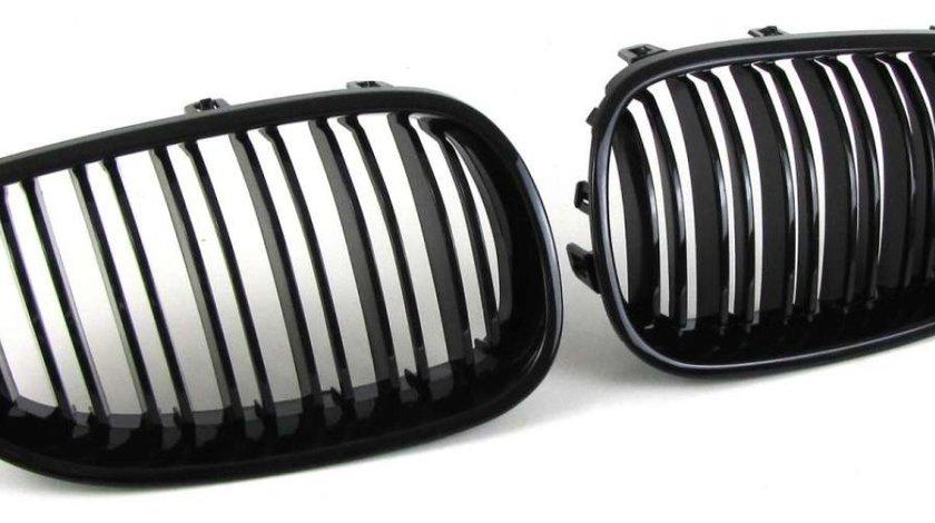 Grile Bmw E60 E61 negru lucios