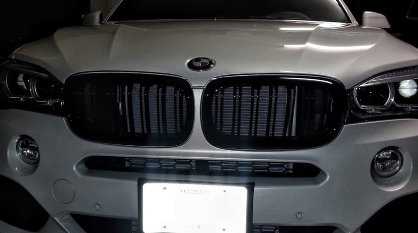 Grile BMW F15 X5 M Look Duble 2014+