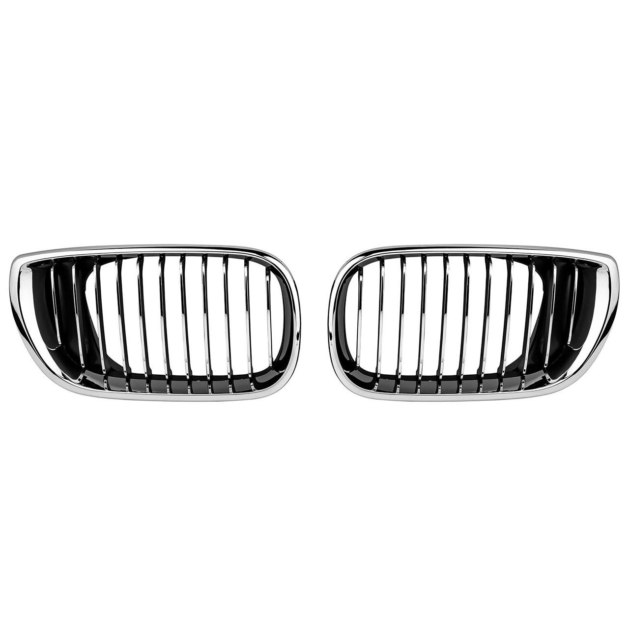 Grile BMW Seria 3 E46 (01-05) Negru Crom