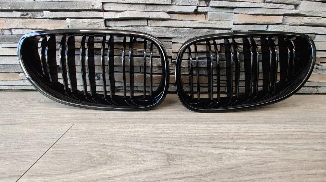 Grile BMW Seria 5 E60/ E61 (03-10) Negru Lucios