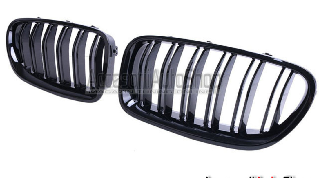 Grile Bmw Seria 5 F10  M5 STYLE - BLACK GLOSS
