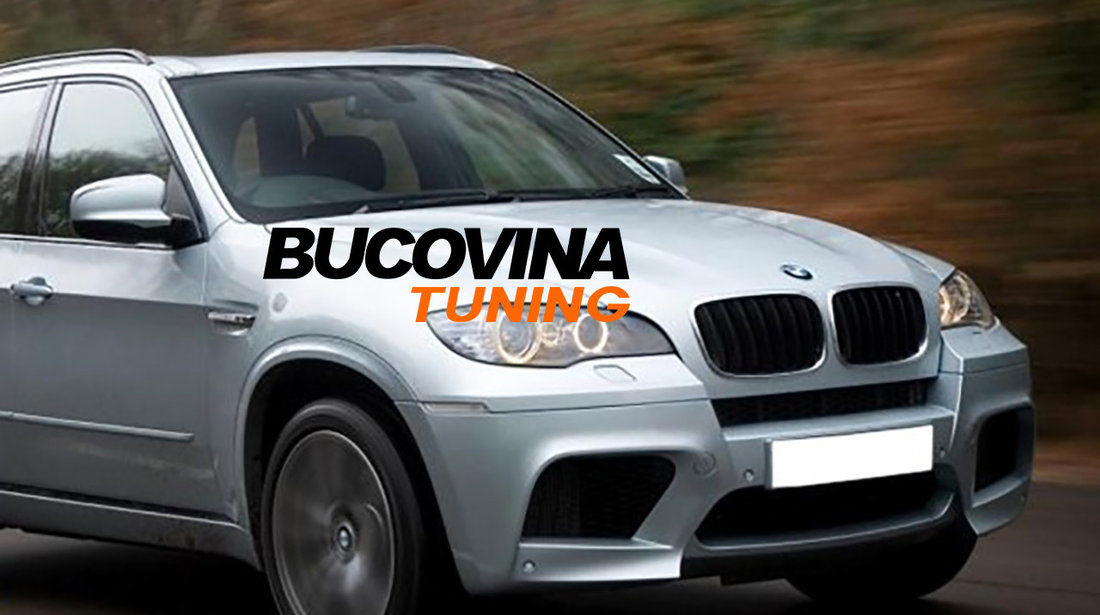 Grile BMW X5 E70 (07-13) Negru mat
