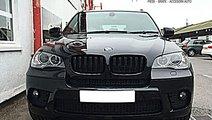 Grile BMW X5 E70 M Power duble negru lucios