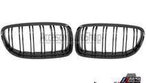 Grile capota BMW Seria 3 E90 E91 LCI Finisaj Negru...