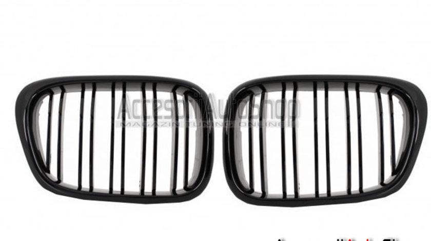 Grile capota BMW Seria 5 E39 Finisaj Negru Lucios DUBLE M5