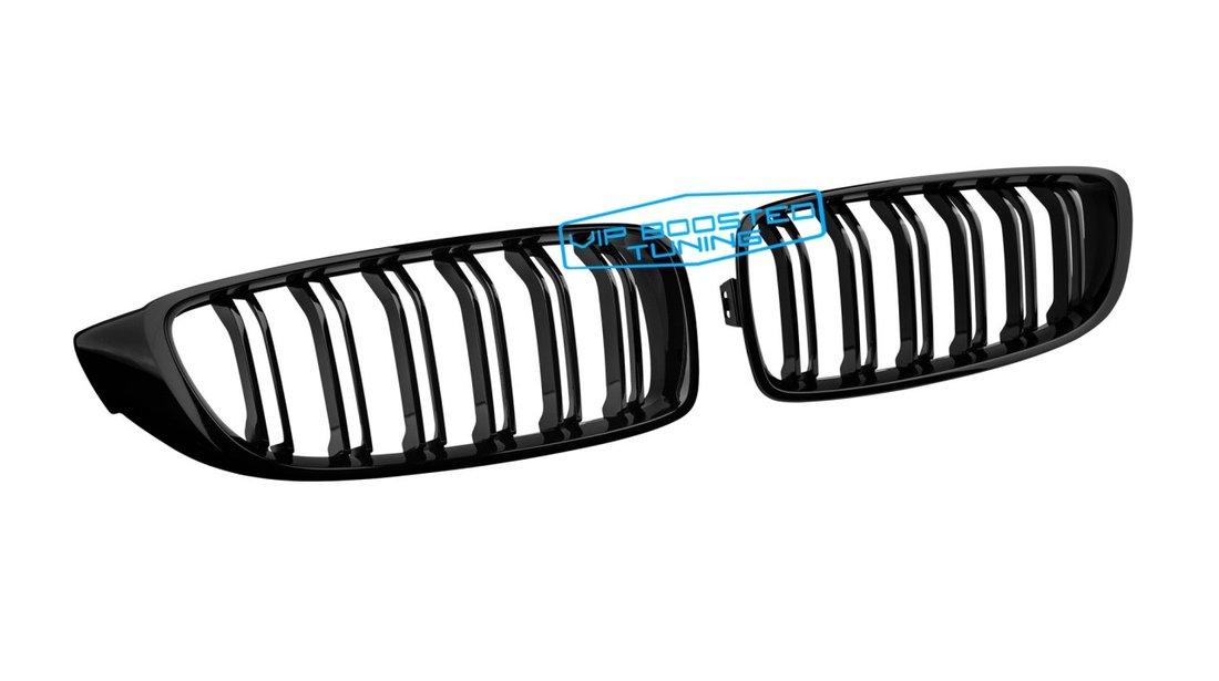 Grile CAPOTA Centrale BMW F32 F33 F36 Seria 4 2013+ Piano Black M Design