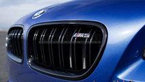Grile centrale BMW F10 F11 M5 Style Negru Lucios