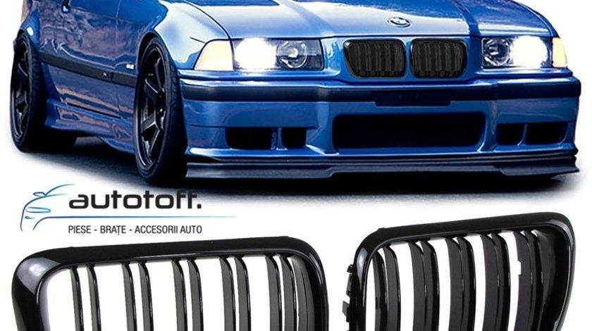Grile duble BMW E36 Seria 3 Facelift (96-98) M3 Design