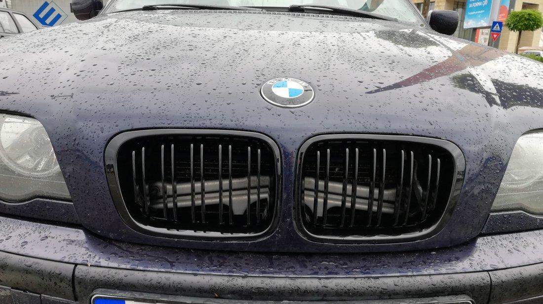 GRILE DUBLE BMW E46 SERIA 3 (1998-2001)