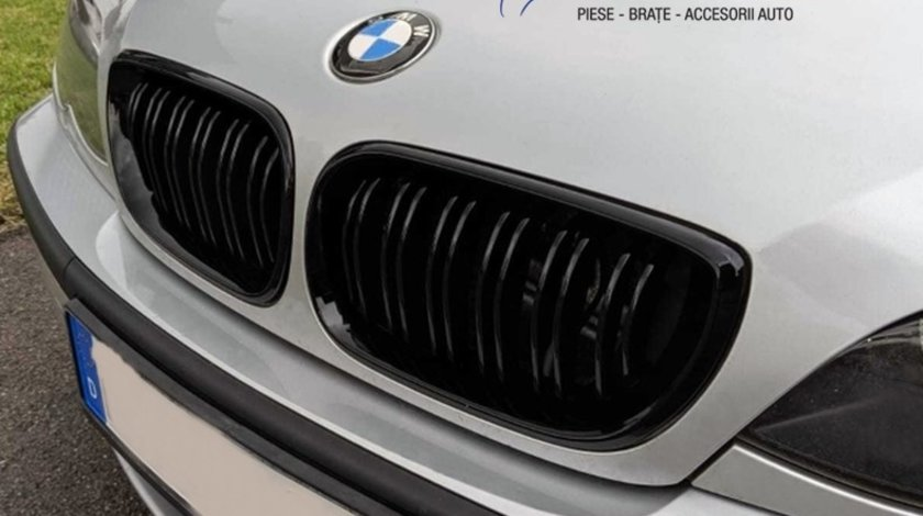 Grile duble BMW E46 Seria 3 Facelift (01-04) M3 Design