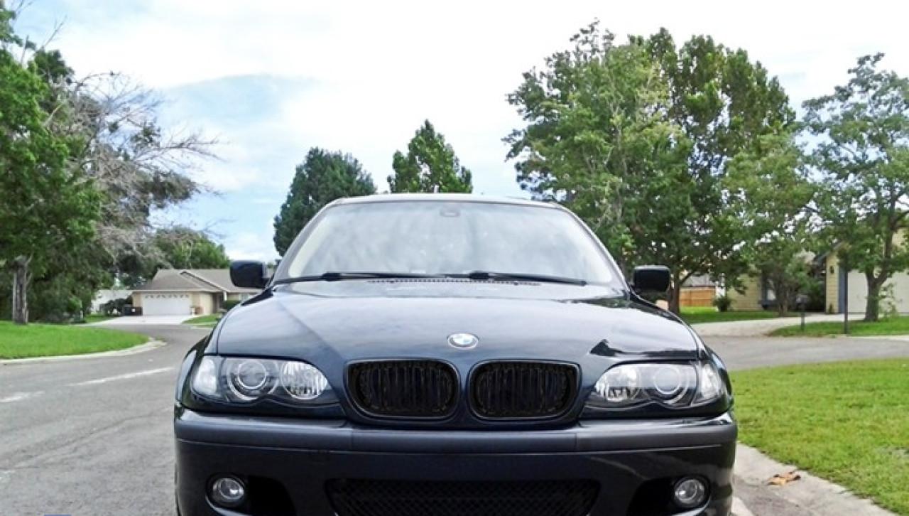 GRILE DUBLE BMW E46 SERIA 3 FACELIFT (2001-2004)