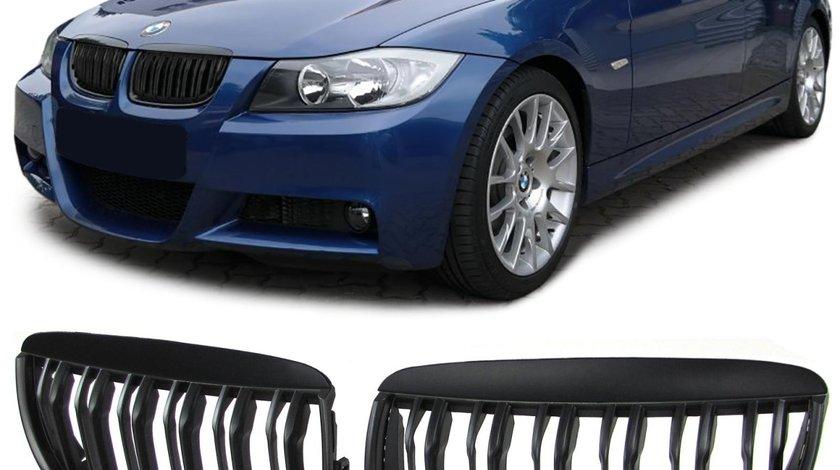Grile Duble Bmw e90 e91 facelift sau nfl nonfacelift
