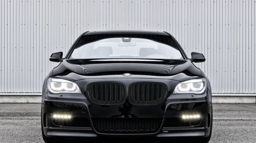 GRILE DUBLE BMW F01 F02 SERIA 7 PIANO BLACK  CALITATE PREMIUM ⭐️⭐️⭐️⭐️⭐️