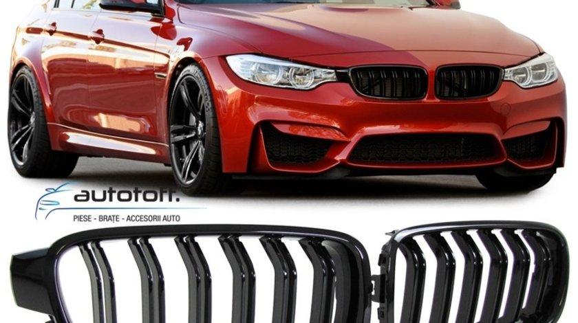 Grile duble BMW F30 F31 Seria 3 (11-18) NEW M3 Design