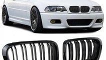 Grile duble BMW seria 3 E46 Limo Touring 1998-2001...