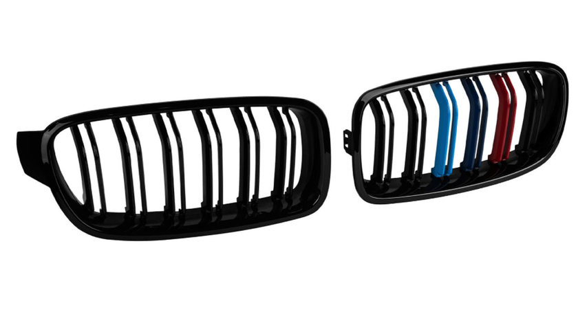 Grile duble BMW Seria 3 F30 / F31 (12-18) M-Performance Design