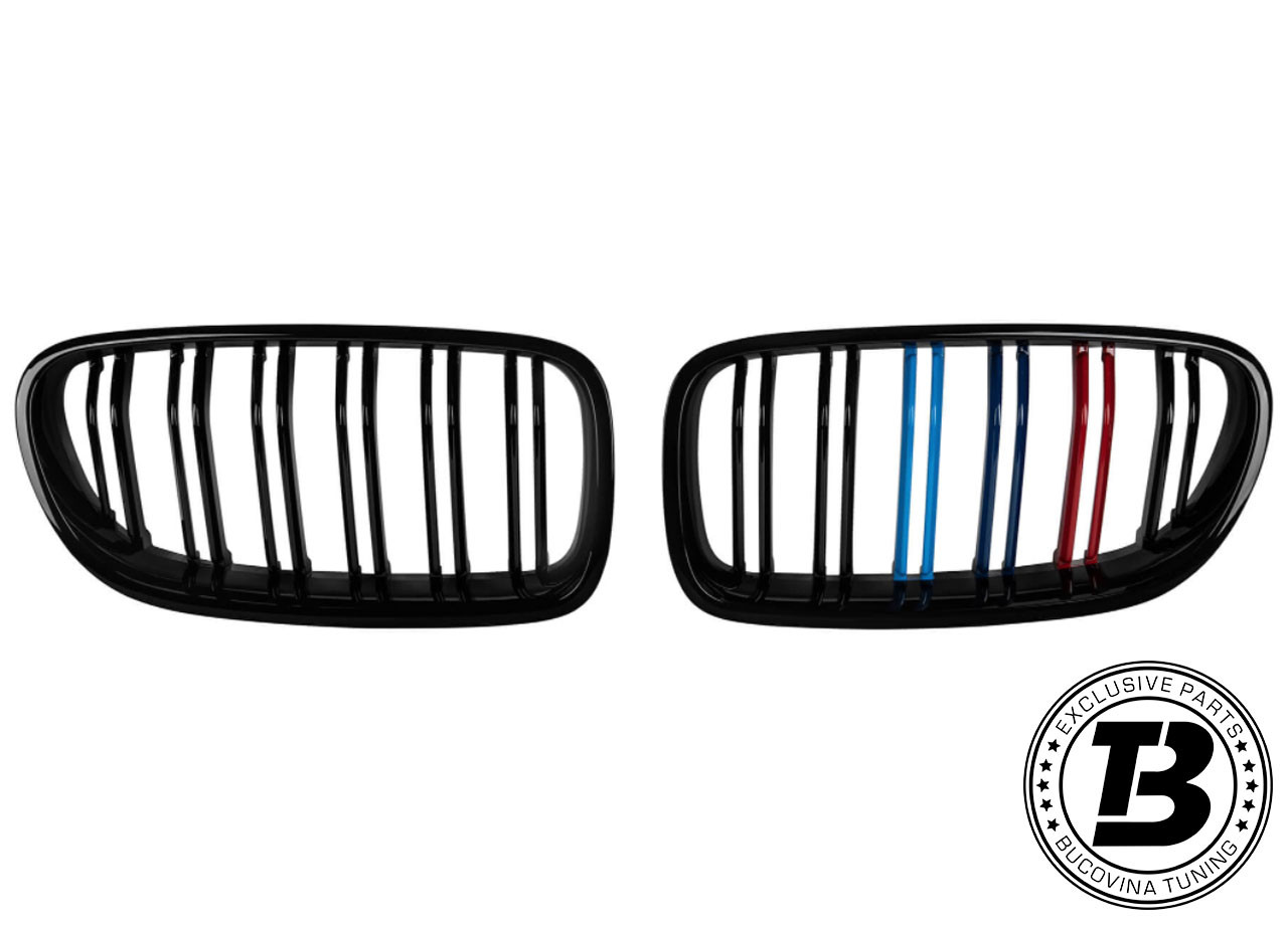 Grile duble BMW Seria 5 F10/ F11 (10-17) M-Power Design