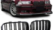 Grile duble negre BMW Seria 3 E36 91-96