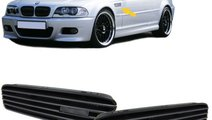 Grile laterale aripi BMW E46 M3 set complet cu sab...