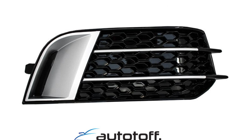 Grile Laterale Audi A1 (8X) (2010-up) RS1 Negre