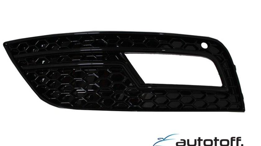 Grile laterale Audi A4 B8 Facelift (2012-up) RS4 Black Design