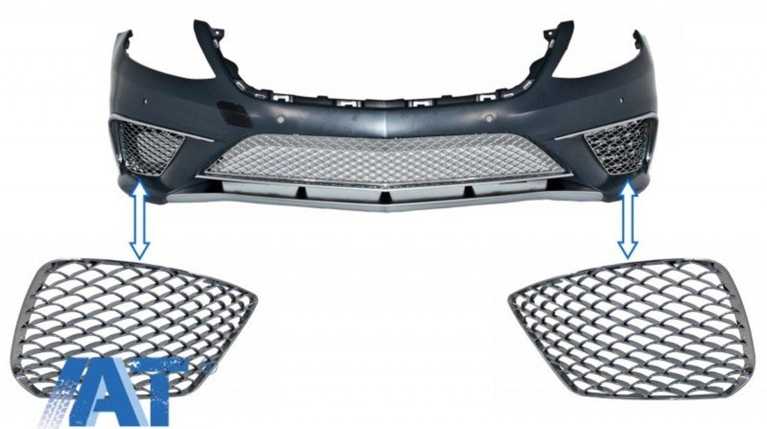 Grile Laterale Cromate compatibil cu MERCEDES Benz S-class W222 (2013-2017) S65 Design