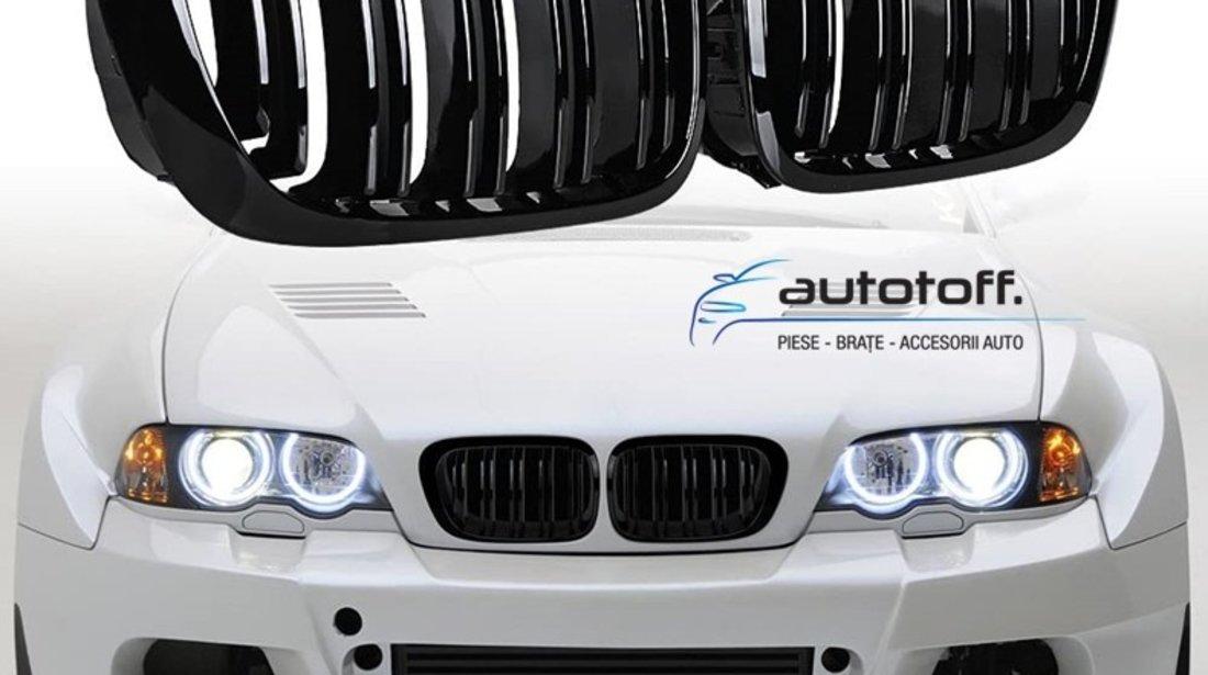 Grile M BMW E46 Seria 3 (98-01) negru lucios