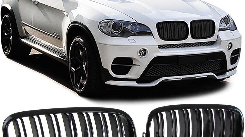 Grile M BMW X5 E70 X6 E71 (2007-2014) Negru Lucios
